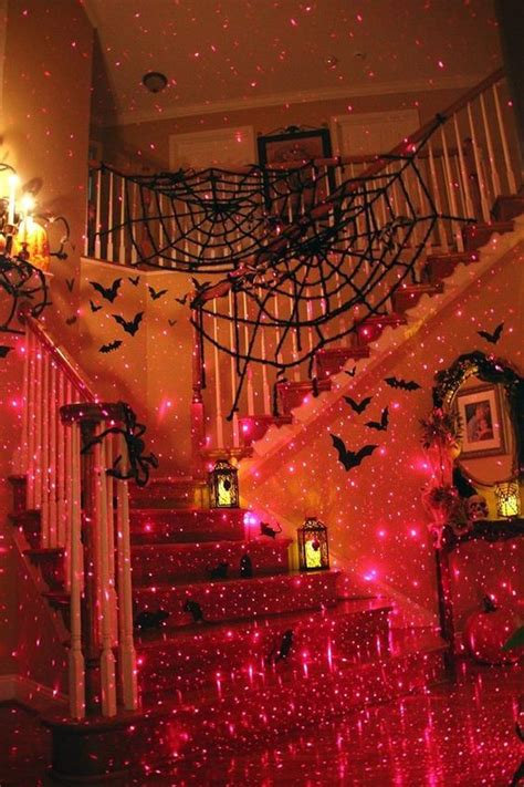 charming Cool Room Colors For Guys #2: 284908-Staircase-Decorated-For-Halloween.jpg