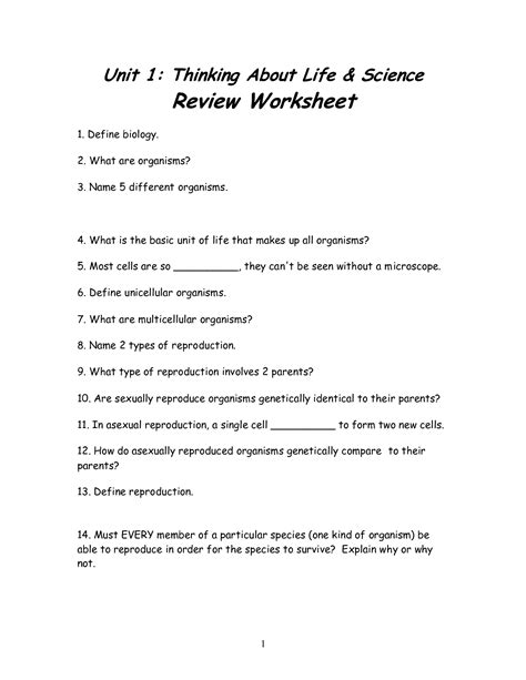 science worksheets 7th grade free worksheets library