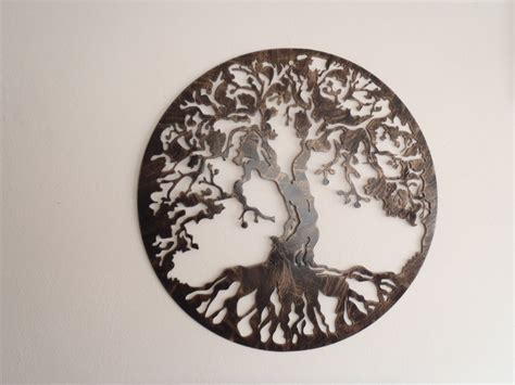 wall decoration metal tree of antique look wall decor metal