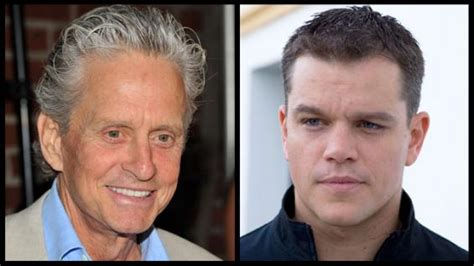 michael douglas matt damon matt damon michael douglas to in hbo s liberace