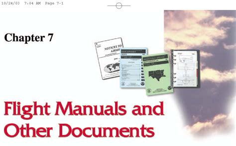 the student pilot s flight manual from flight to pilot certificate kershner flight manual series books pilot s handbook of aeronautical knowledge chapter 7