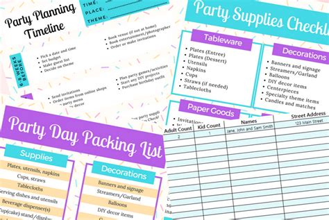 20x30 guest house plans pool life pinterest mom the ultimate party planning checklist bundle free