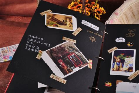 Photo Album Handmade - c 225 ch trang tr 237 cho album ảnh d 225 n vintage d floral vn