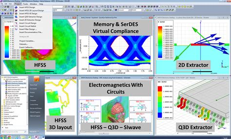 Great Room Layout Ideas features of ansys electronics desktop
