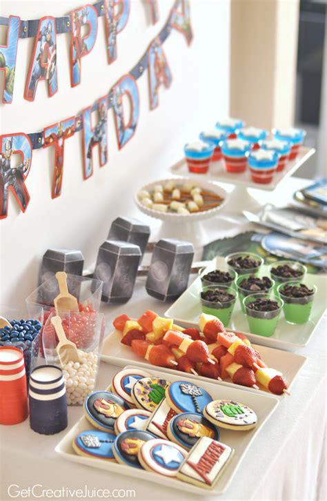 party ideas avengers party ideas creative juice