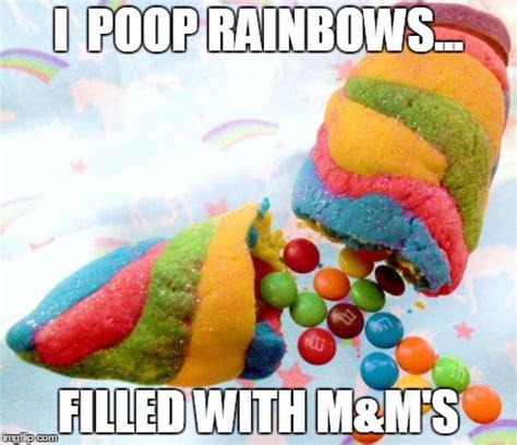Unicorn Rainbow Meme - unicorn poop imgflip