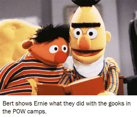 Ernie Meme - ernie bert and pows bertstrips know your meme