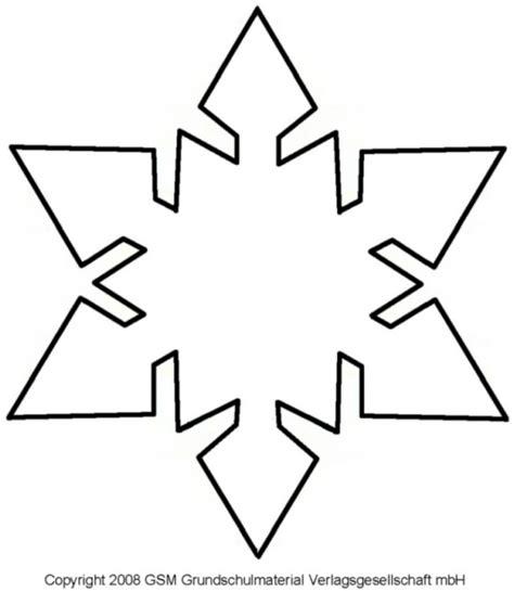 Kostenlose Vorlage Schneeflocke schneeflocke vorlage zum ausschneiden vorlage