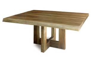 Wood Table Contemporary Rectangle Unfinished Reclaimed Wood Table For