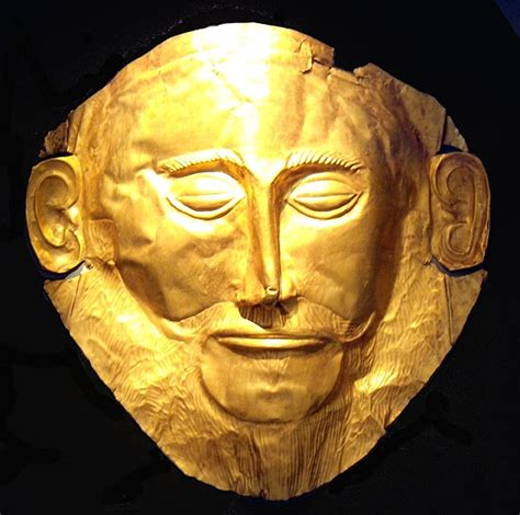 Pibamy Gold Mask Pibamy Time Gold Mask mycenae in greece