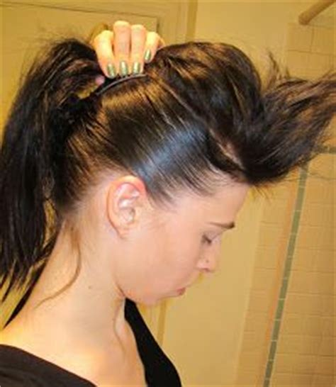 how to get hair like sherrie from rock of ages 25 best ideas about long hair mohawk on pinterest