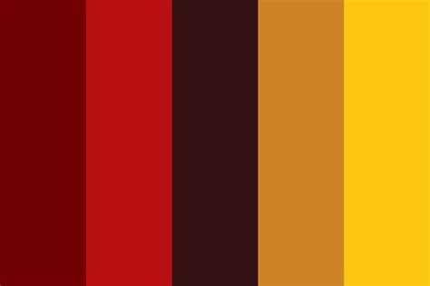 gryffindor colors gryffindor lions color palette