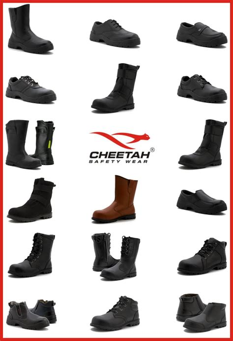Sepatu Boots Cheetah sepatu safety cheetah supplier jakarta indonesia general