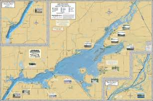 lake maps lake wisconsin fold map