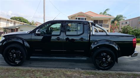 navara nissan modified 2012 nissan navara st 4x4 d40 my12 car sales qld gold