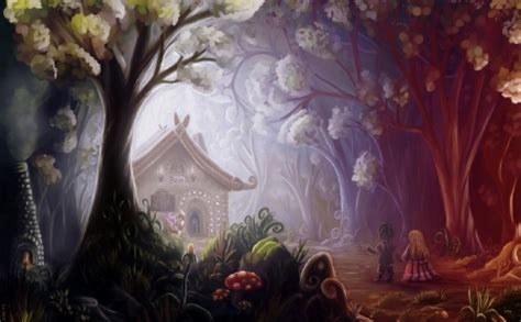 Hello Hansel N Gretel hansel and gretel abstract background
