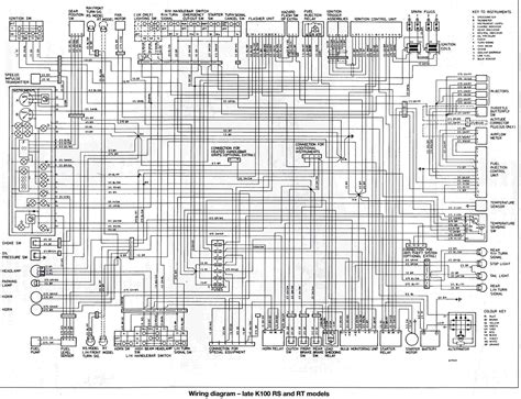 wiring diagram of bmw k100rs rt circuit wiring diagrams