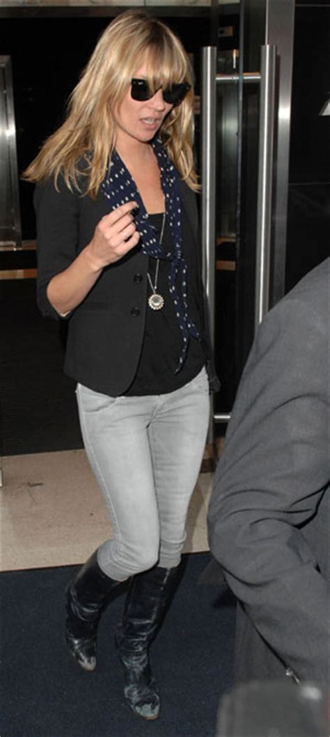 Kate Moss Gets For Donna Karans 2008 Caign by Trend Spotting Light Grey In