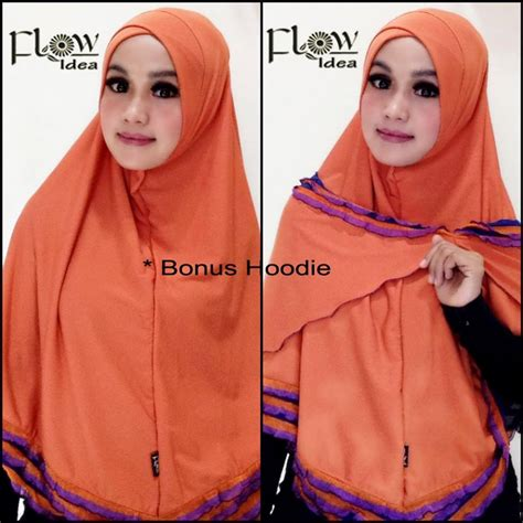 Exclusive Mini Khimar Prada Aqila By Flow Idea jual syria hawwa murah by flow idea original
