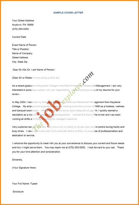 5 how to write an employment letter model resumed