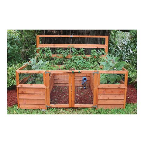 raised bed gardening kits product raised bed gardening system 8ft x 8ft model