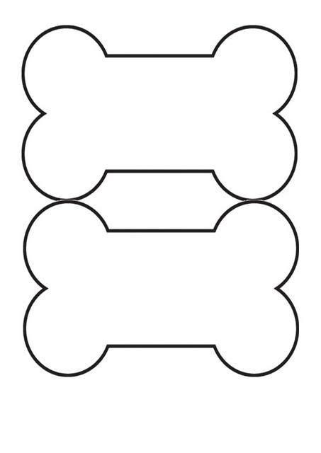 printable dog templates dog bone template printable dog bone pinterest tag