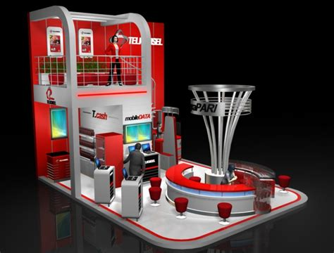 booth design indonesia exhibition by andrie rhesa prastanto at coroflot com