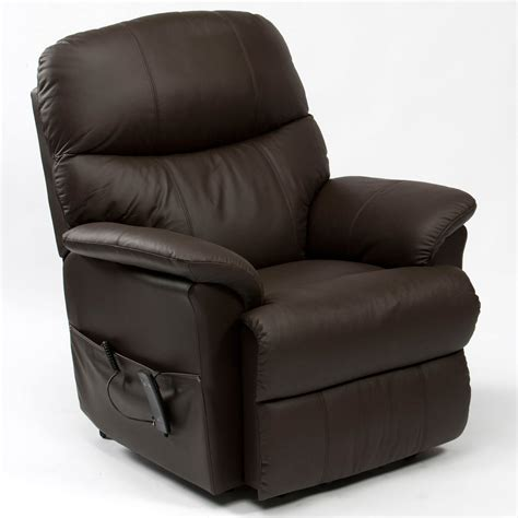 single leather recliner chairs lars single motor recliner chair