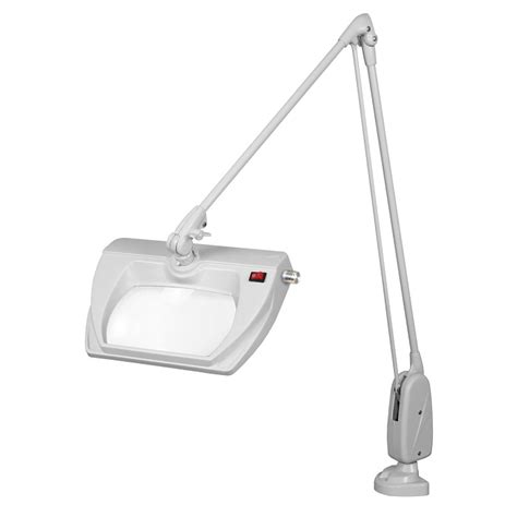 Dazor Magnifying L by Dazor Led Stretchview Cl Base Magnifier L 43 In