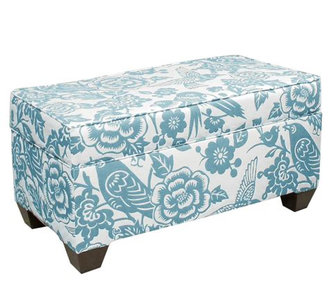 skyline furniture storage ottoman skyline furniture storage ottoman everything turquoise