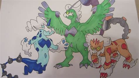 pokemon coloring pages thundurus how to draw pokemon no 641 tornadus no 642 thundurus no