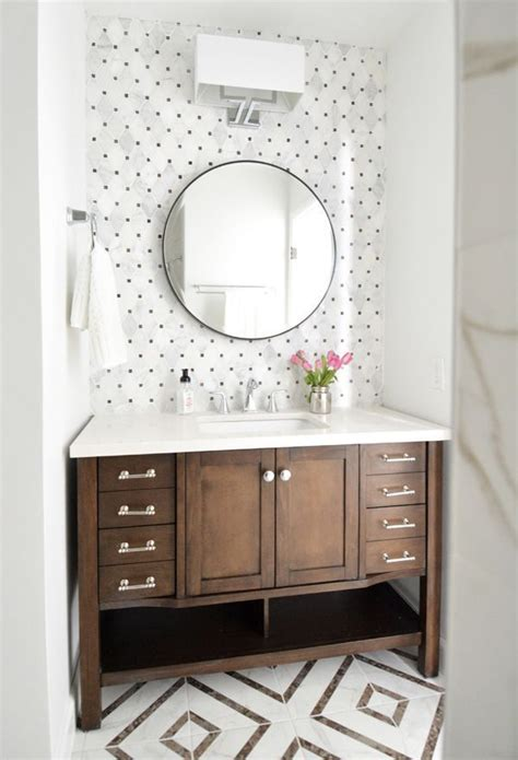 25 best ideas about bathroom accent wall on pinterest attractive bathroom vanity ideas transitional with