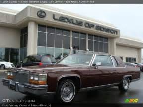 Cadillac Fleetwood Brougham Coupe 1984 Cadillac Fleetwood Brougham Coupe In Crimson