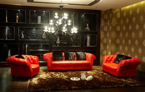 red and black living room ideas red black and gold living room in contemporary living room