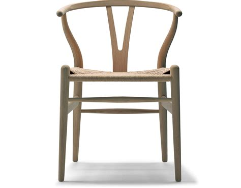 Hans Wegner by Ch24 Wishbone Chair Wood Hivemodern