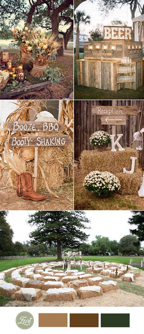 top 10 fall wedding color ideas for 2017 trends elegantweddinginvites