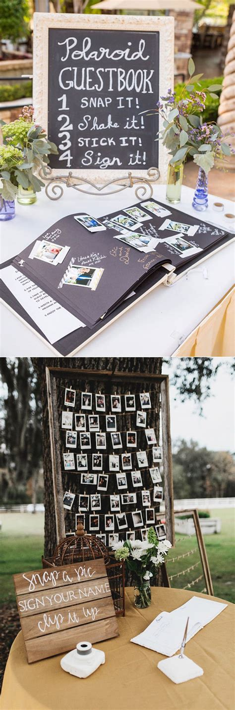Wedding Guest Photos Ideas by 20 Must See Non Traditional Wedding Guest Book Alternatives