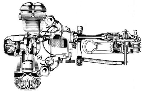bmw motorcycle engine illustrations bike bmw bmw