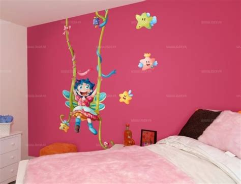 chambre f馥 stickers geant chambre fille sticker enfant lu0027ours