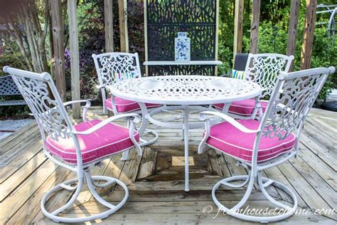 Paint Patio Furniture Metal - how to paint metal patio furniture