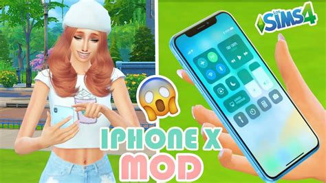 x mod game for iphone mod iphone x en los sims 4 youtube