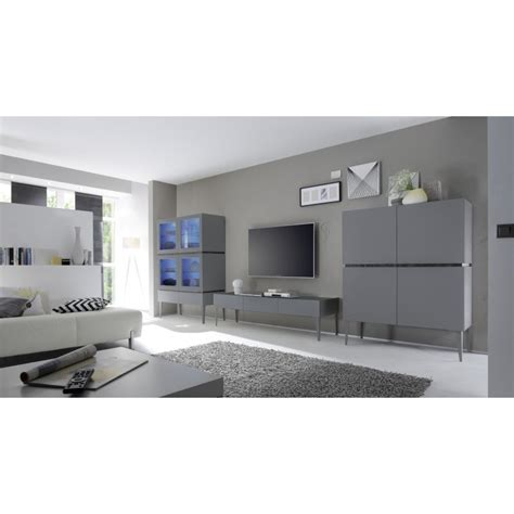 Box Uk 8811 livia grey matt lacquered tv unit with drawers tv stands 1832 home furniture