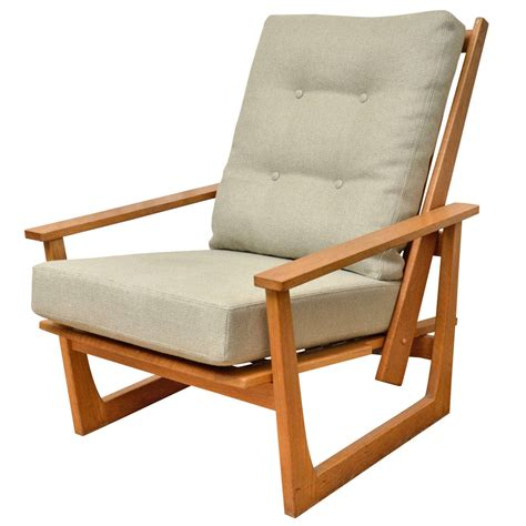 reclining lounge chairs reclining wooden lounge chair at 1stdibs