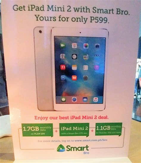 Smart Mini 2 smart woos subscribers with free mini 2 and 1 7gb