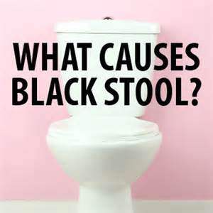 the drs what to do about black stool when you should be