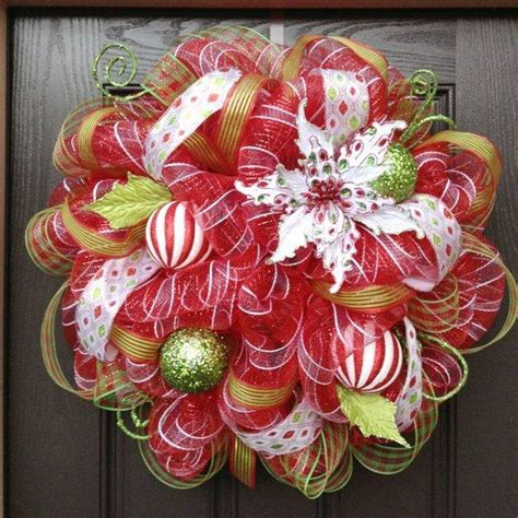 mesh wreath deco mesh wreath tutorial
