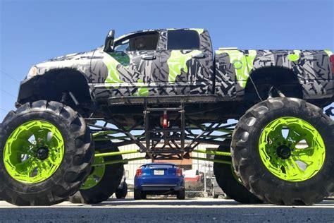 waup a gaun a stile gun camo dodge ram monster truck skepple inc