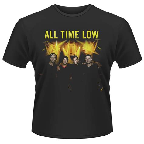 All Time Low Shirt all time low t shirt