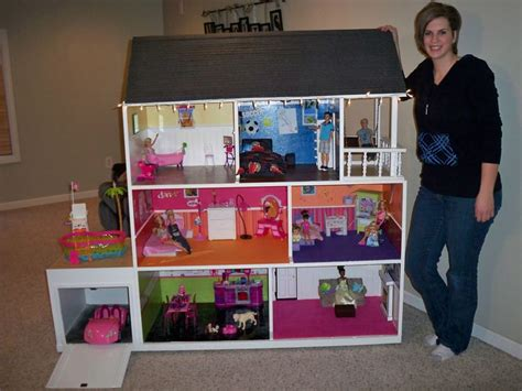 homemade barbie doll houses best 25 barbie house ideas on pinterest diy dollhouse barbie house furniture and