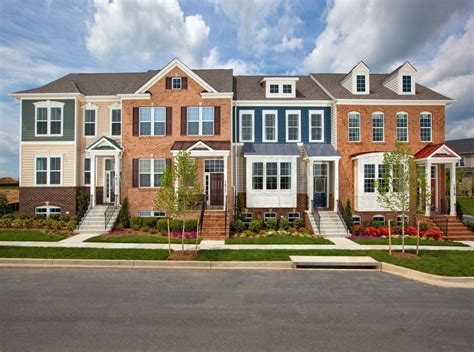 Apartments Or Houses For Rent Brunswick Md Townhome Building Design Brunswick Md Ktgy Architects